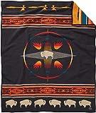 Pendleton Unisex Jacquard Blanket Robe Oxford/Big Medicine One Size