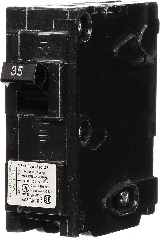 ITE Gould Siemens QP Q120 1 Pole 20 Amp 240V Circuit Breaker