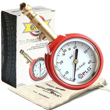 Amazon Com Professional Air Tire Pressure Gauge 60 Psi Best For