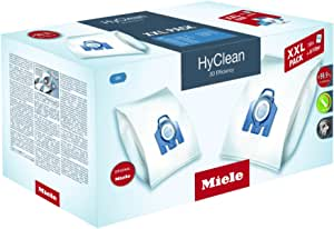 Miele 10408410 XXL Pack HyClean 3D GN Efficiency Dustbags, White, Pack of 16