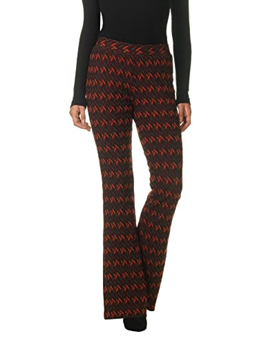 Glamorous Women's Women's Flared Pants With Print 100% Polyester