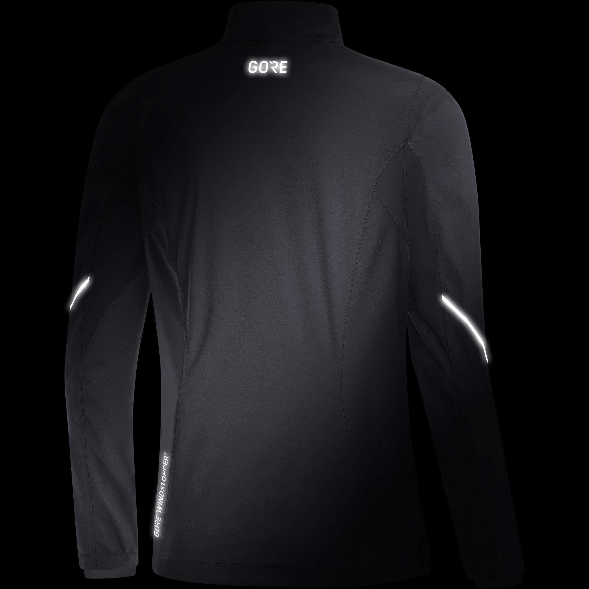 Gore Women's R3 Wmn Partial Gws Jacket,  terra grey/black,  M by GORE WEAR (Image #5)