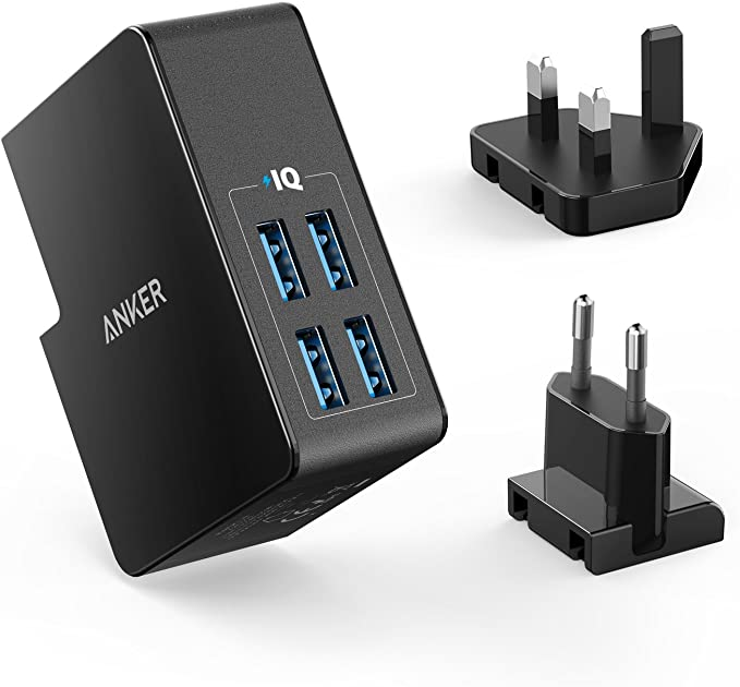 Anker 4-Port USB Travel Charger
