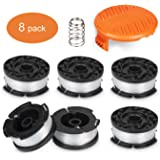 "Deyard Trimmer Spool Compatible with Black + Decker Autofeed System Replacement Durable 30ft 0.065"" Line String Trimmer…"
