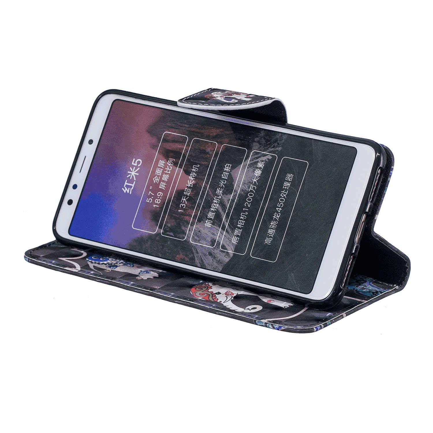 Leather Flip Case Fit for Samsung Galaxy S9 Peacock Wallet Cover for Samsung Galaxy S9