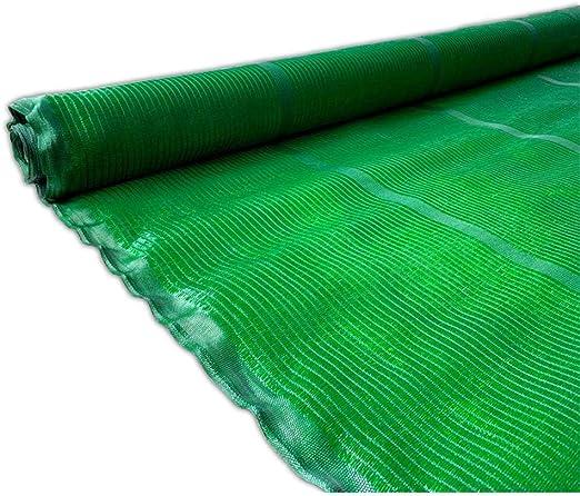 Jardin202 2 m. de Ancho - Malla de Ocultacion Verde - Rollo 50m Premium: Amazon.es: Jardín