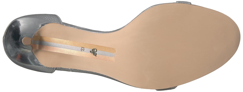 Sam Edelman Women's Patti Dress Sandal B019O8GAJS 5 B(M) US|Soft Silver/Metallic Leather