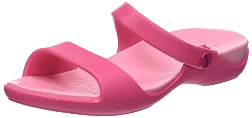 dff738838185 Image Unavailable. Image not available for. Colour  crocs Cleo V Paradise  Pink