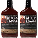 Rufus Teague's Award Winning BBQ Sauces - OU Kosher - Whiskey Maple, 16 oz. (2 Pack)