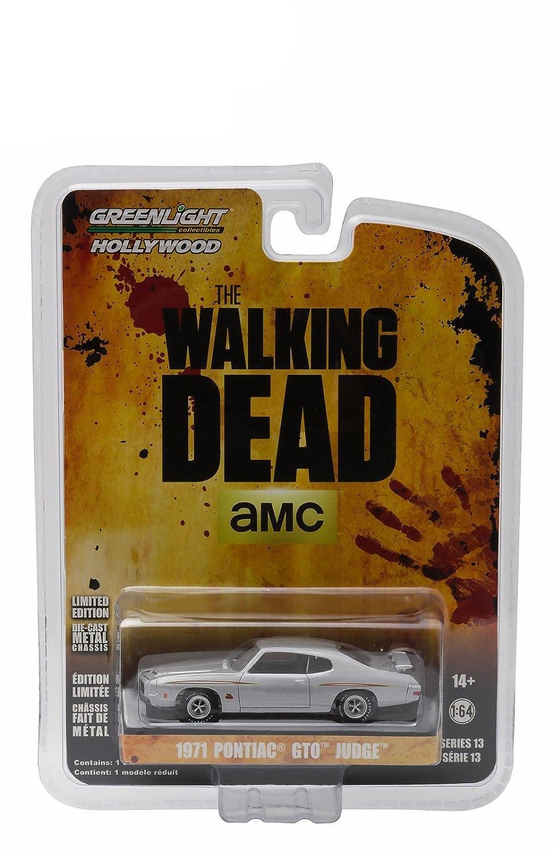 1971 PONTIAC GTO THE WALKING DEAD TV SERIES 2010-2015 1//64 GREENLIGHT 44730 E by Greenlight