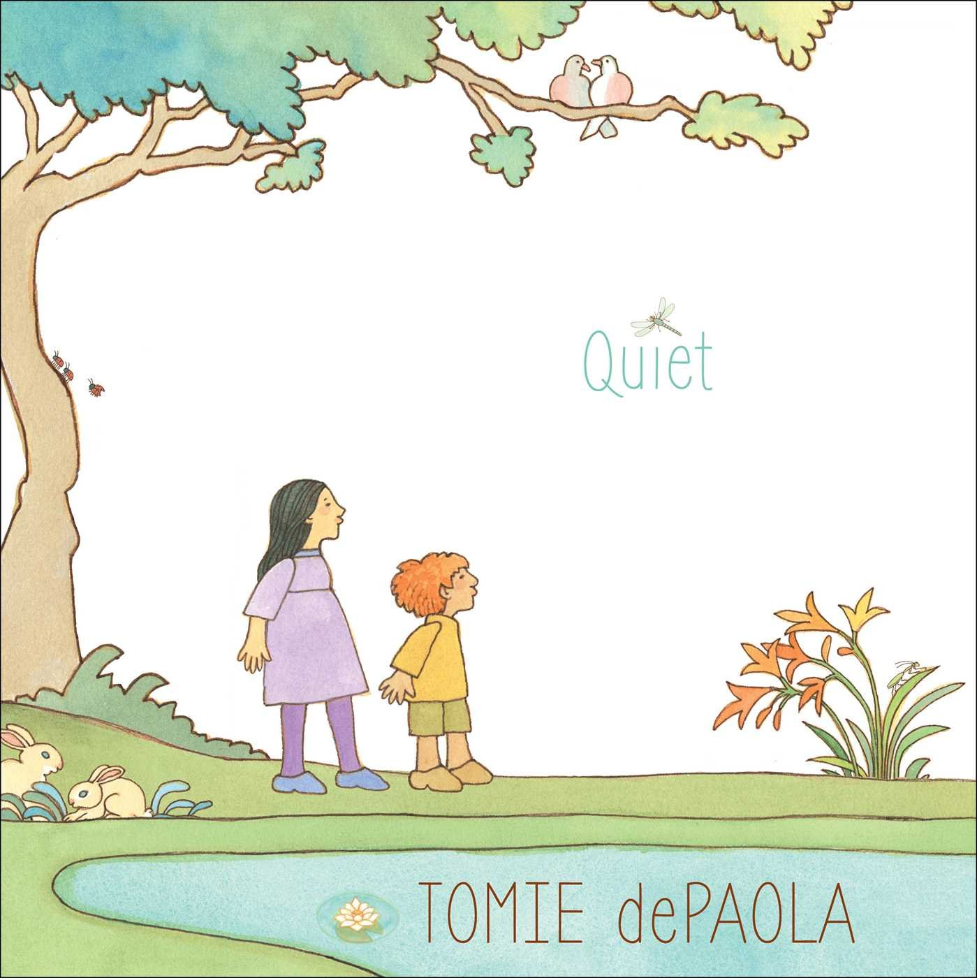 Image result for quiet by tomie depaola