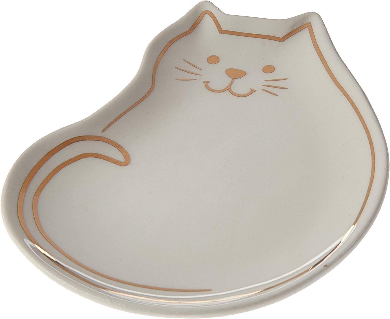 C.R Gibson Ceramic Trinket Dish Felix TDC5-18869