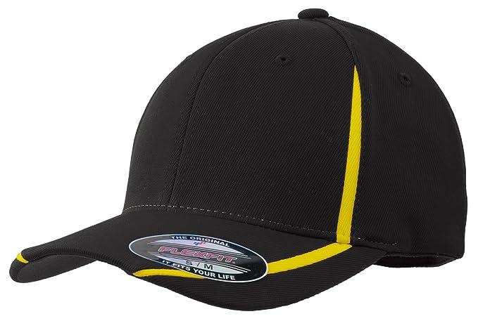 292ef17f921e1 Sport-Tek Flexfit Performance Colorblock Cap. STC16 at Amazon Men s ...