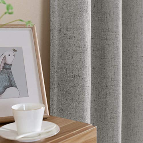 Grey Blackout Curtains