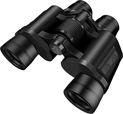 icemoon Compact 8 x40 Binoculars for Adults, Folding Durable Binoculars for Bird Watching, Sports, Concerts, Living Waterproof