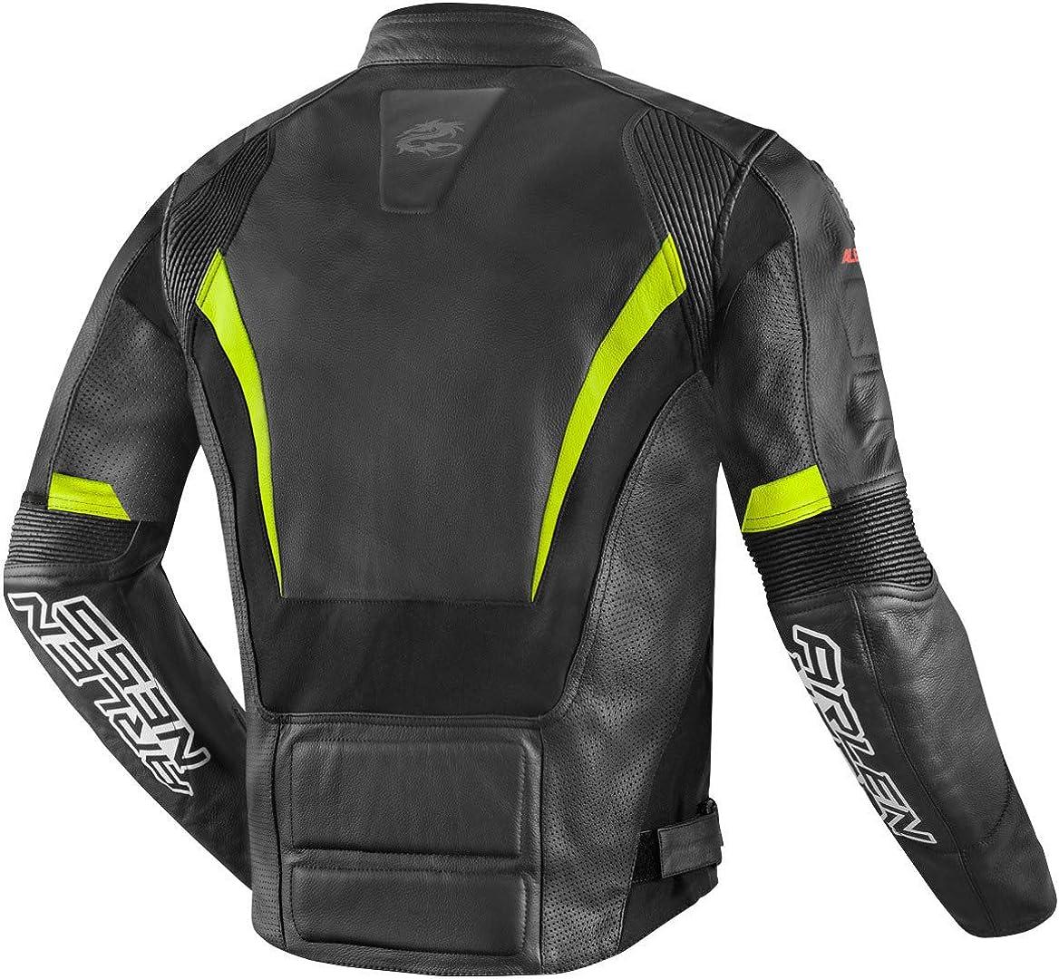 Arlen Ness Sportivo Motorcycle Racing Sport Leather Jacket