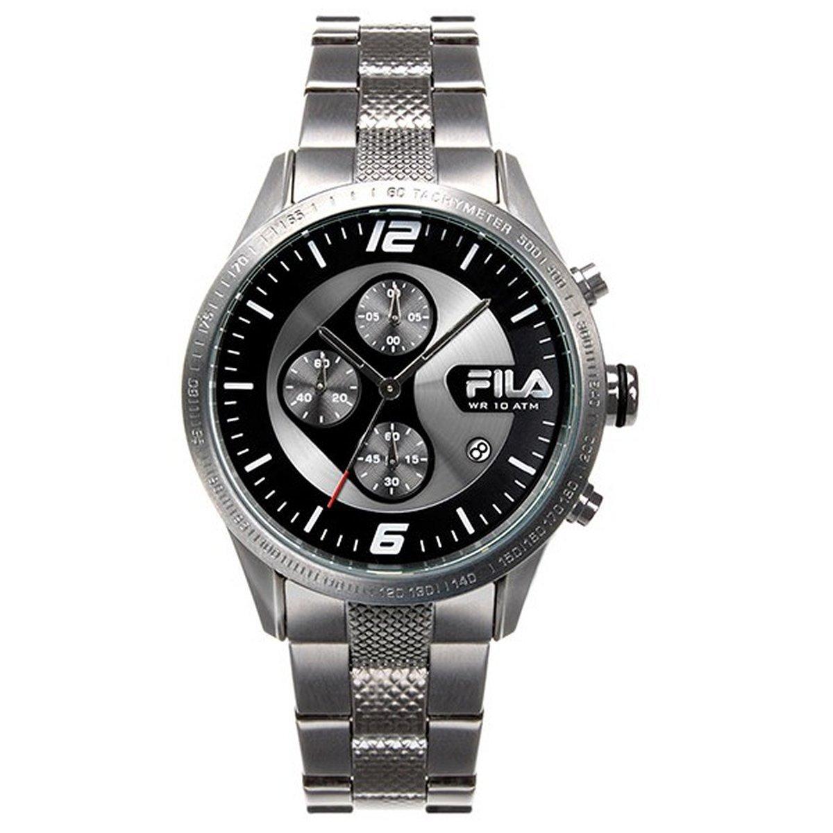 Fila Herren Uhr Chronograph Edelstahl FA38-001-001