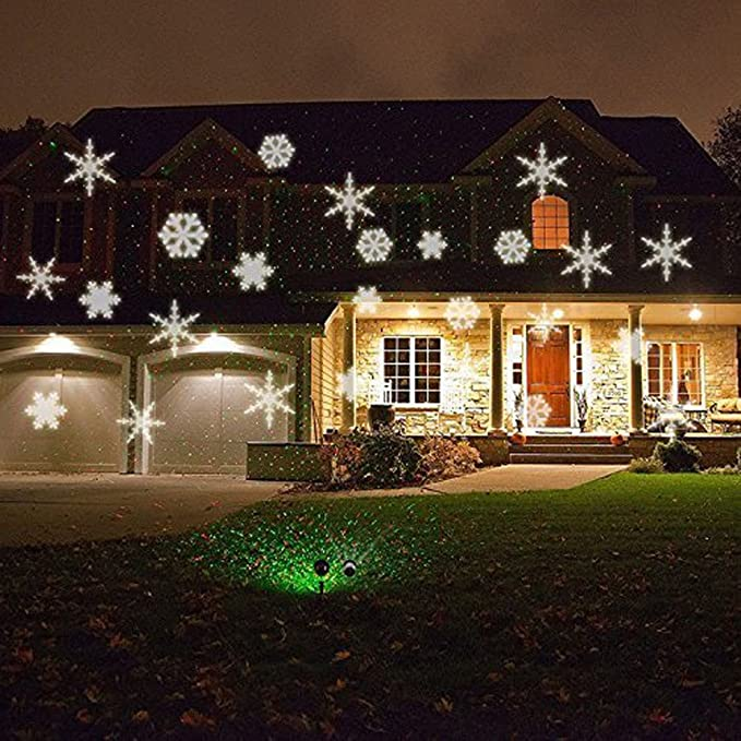 Amazon.com: Moving Snowflake Projector Lamp, IPX65 Waterproof Landscape  Projector Lights Night Light Spotlight for Christmas, Halloween, Holiday,  Garden, ... - Amazon.com: Moving Snowflake Projector Lamp, IPX65 Waterproof