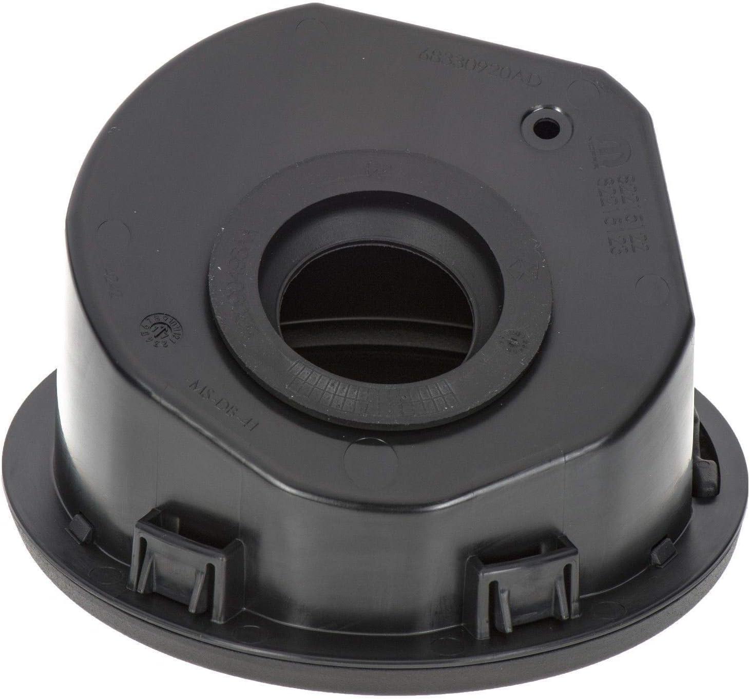 Fuel Filler Door Gas Tank Cap Cover Accessories For Jeep 2018-2019 Wrangler JL Black Satin