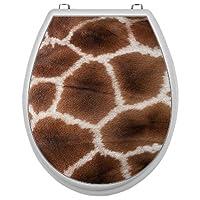Aufkleber für Toilettensitz Klodeckel Aufkleber WC Sitz Aufkleber - Motiv Giraffe