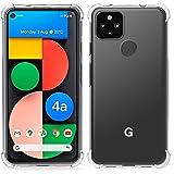 Arae Case for Google Pixel 4A 5G, Premium Soft and Flexible TPU [Scratch-Resistant] Phone Case for Google Pixel 4A 5G, 6.2inc