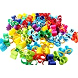 PET SHOW Assorted Rhinestone Tiny Small Dogs Hair Bows With Rubber Bands Puppy Pets Topknot for Cats Hair Grooming Products