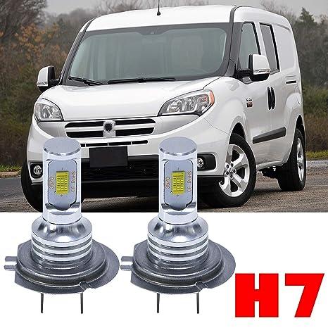 Amazon Com H7 Led Headlight Bulbs High Beam For Ram Promaster 1500