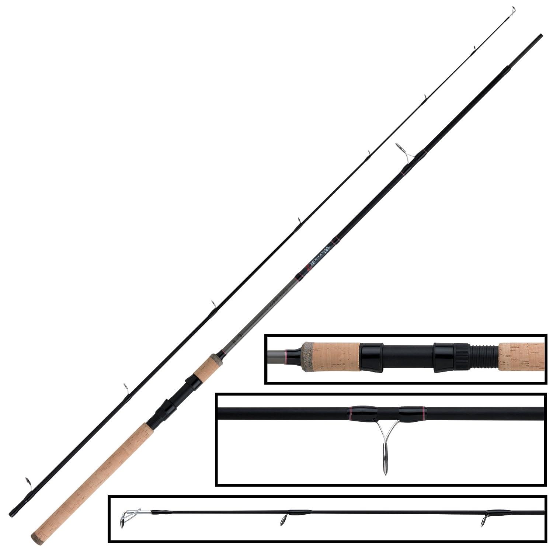 Fox Rage Warrior 2 Spin 240cm 20-60g Spinnrute zum Hechtangeln /& Zanderangeln Hechtrute Angelrute zum Spinnangeln Jigrute