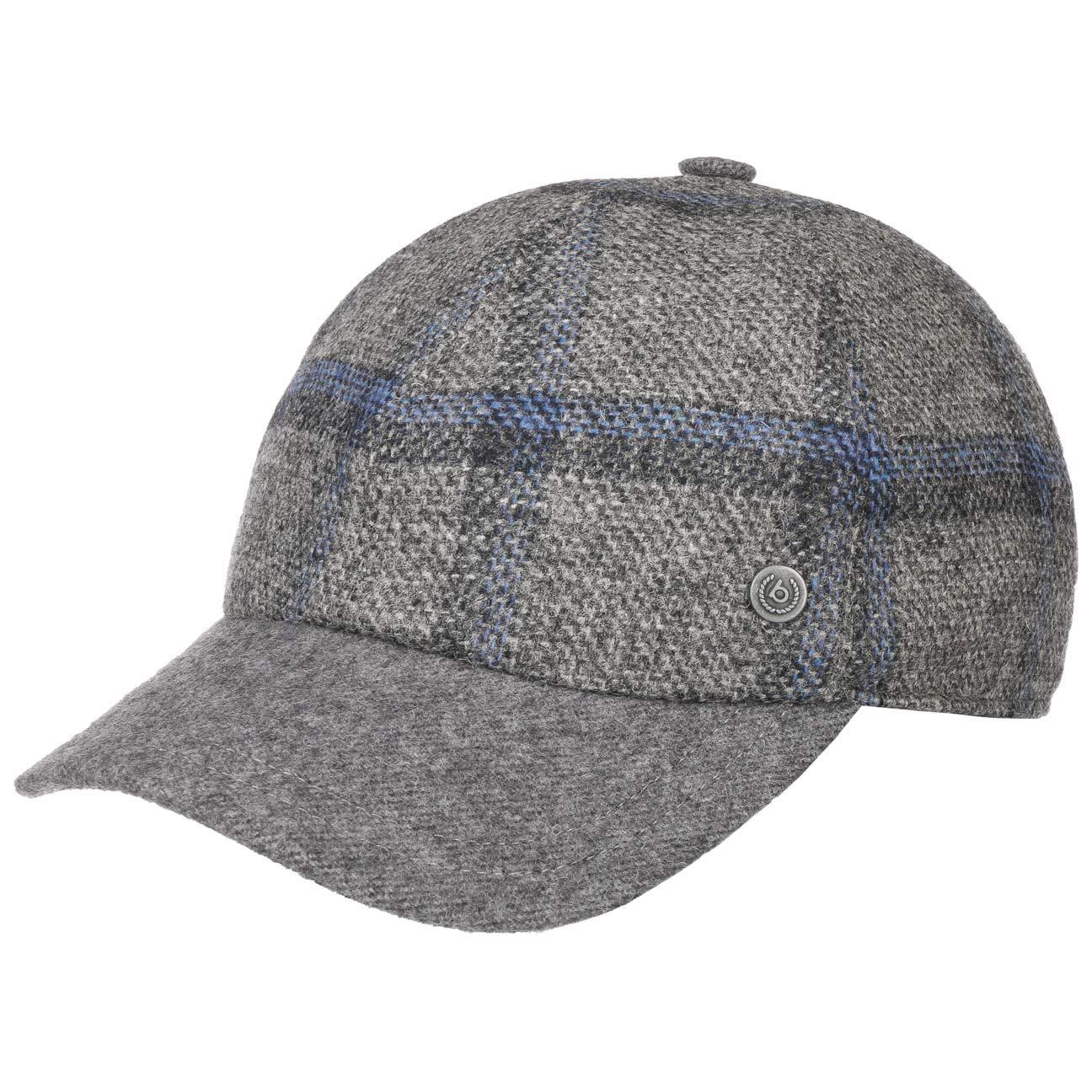 BUGATTI Cappellino con Paraorecchie Jamie Berretto Baseball a Quadri Cappello Invernale