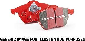 EBC Brakes DP31140C Redstuff Ceramic Low Dust Brake Pad