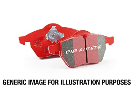 Ebc Brake Pads >> Amazon Com Ebc Brakes Dp3680c Redstuff Ceramic Low Dust Brake Pad