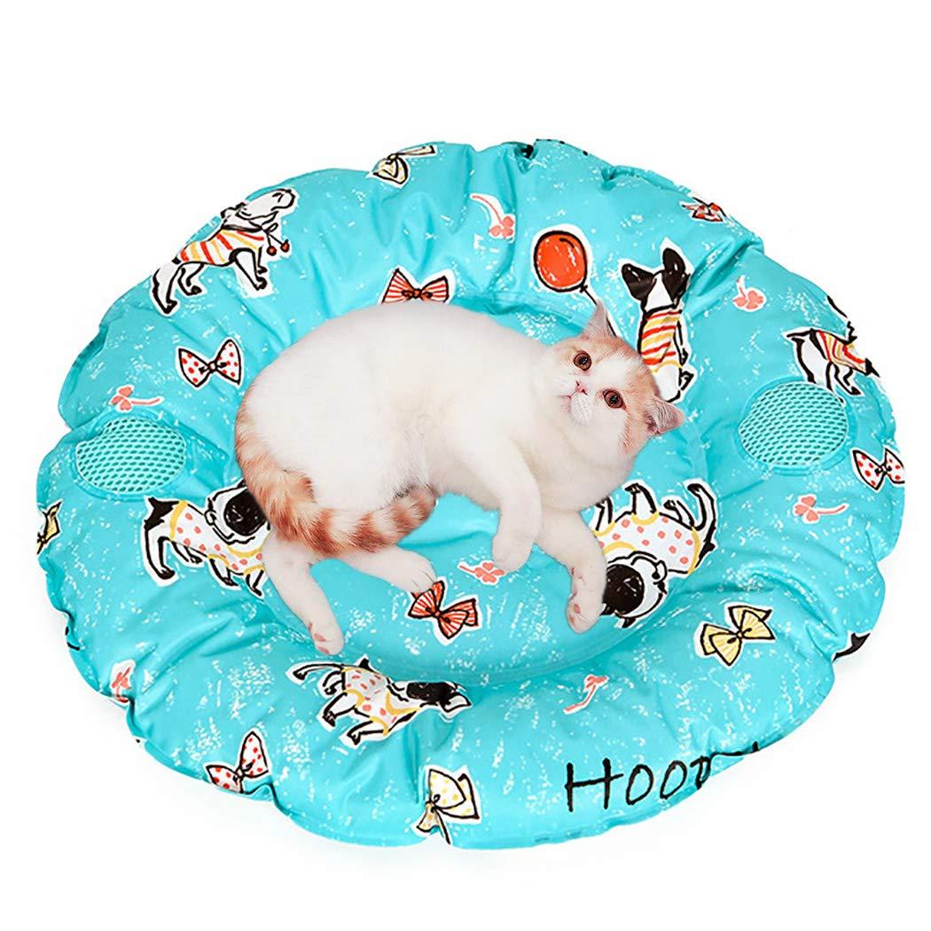 Lake Green Legendog Gel Cool Pad Reusable Pet Summer Mat Cool Pet Mat Dog Mat for Pet