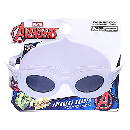 387f64d9fd Image Unavailable. Image not available for. Color  Sun-Staches Costume Sunglasses  Marvel Lil  Characters Thor ...