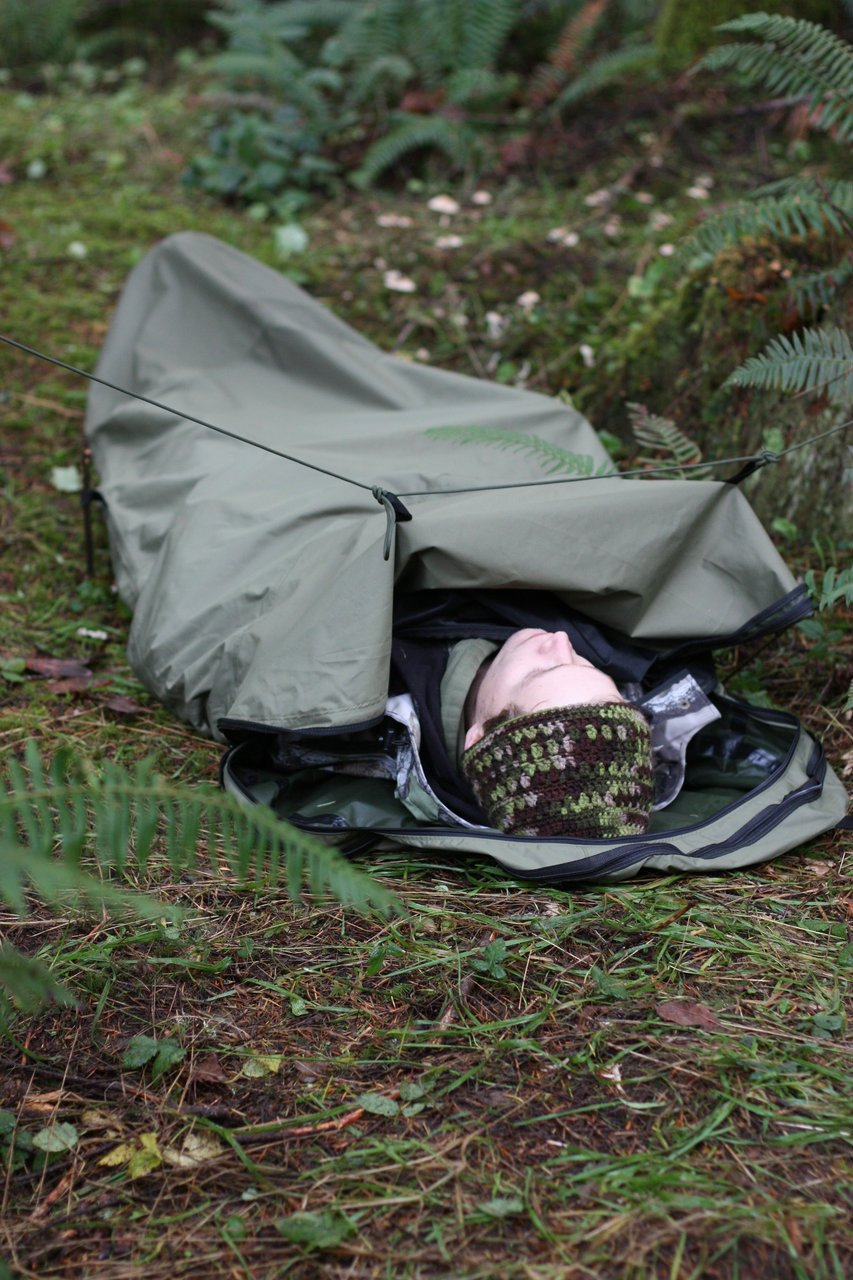 Bivy Sack – One Man Tent with Water tight seams