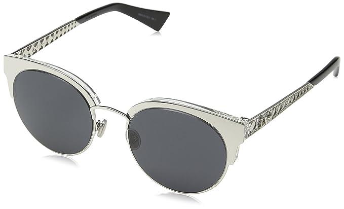 Dior DIORAMAMINI IR 010 Gafas de sol, Plateado (Palladium ...