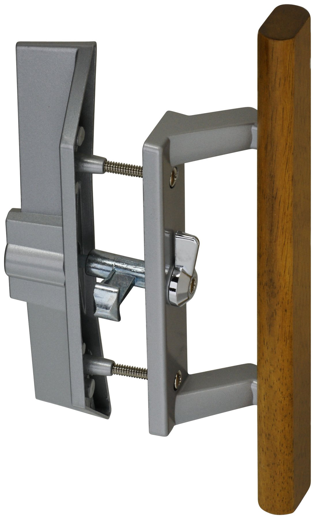 Stanley National N349-209 Locking Patio Door Handle Latch Set