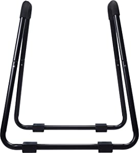 AmazonBasics Dip Fitness Bar - 34 x 32 x 38 Inches, Black