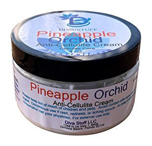 Pineapple Orchid Anti Cellulite Cream With Caffeine, By Diva Stuff