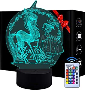 LITTLEFUN 3D Dinosaur Night Light,Holiday Lantern Gift for Kids