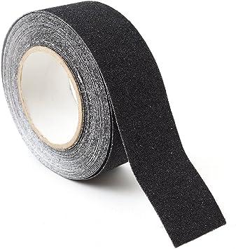 4 Stück Antiruschband Antirutsch Klebeband Grip Tape Klebeband in Schwarz
