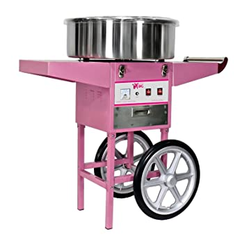 Royal Catering - RCZC-1200-W - Máquina de algodón de azúcar - con carrito - 1200 W - Envío Gratuito: Amazon.es: Hogar