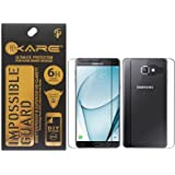 Ikare Impossible Fiber Front/Back Tempered Screen Protector For Samsung Galaxy A9 Pro (2016)