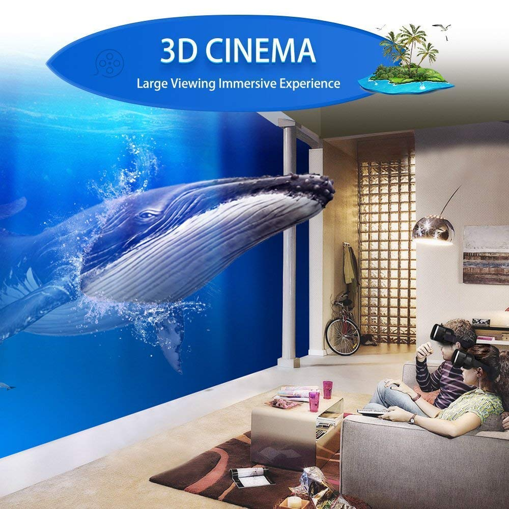 Amazon.com: VR Headset - Auriculares de realidad virtual VR ...