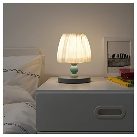 IKEA lantlig lámpara de mesa LED, Gris Dormitorio de niño ...