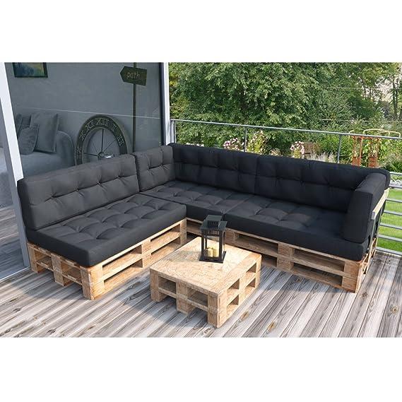 Amazon De Palettenkissen Palettenmobel Ecksofa Couch Sitzecke Inkl