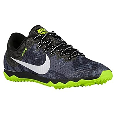 Nike Zoom Rival Waffle Black/Hot Lava/Voltage Green Size Mens 8/Womens