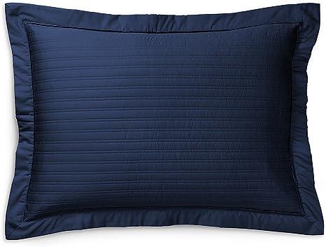 Ralph Lauren Reed Polo Navy Blue Standard Pillow Sham Kitchen Dining