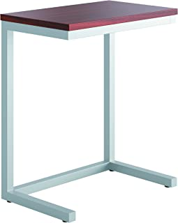 product image for HON HML8858C1 Occasional Cantilever Table 24w x 15d x 20 3/4h Chestnut/Silver, Chestnut/Silver