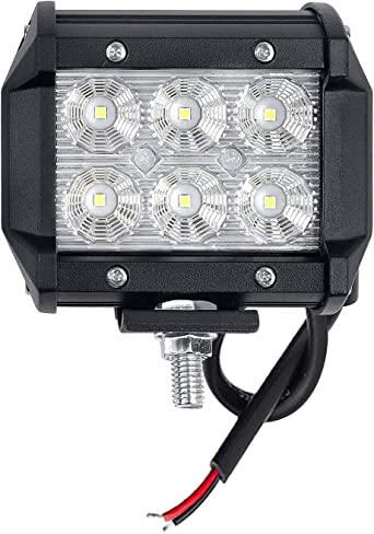 48Wx2 4 zoll Flutlicht LED Offroad Zusatzscheinwerfer Arbeitslicht Worklight IP67 12V 24V f/ür Trecker KFZ Bagger SUV UTV CO LIGHT ATV LED Arbeitsscheinwerfer 914Z-F-2pcs