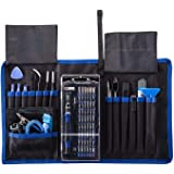 Jiusion 82 in 1 Precision Screwdriver Set with Magnetic Driver Kit Professional Electronics Hand Repair Tool Kits for…